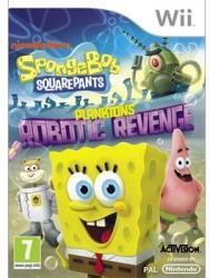 Activision SpongeBob SquarePants Plankton's Robotic Revenge (Wii)