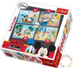 Trefl Mickey egér vizes négyes 4 az 1-ben (34118)