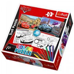 Trefl Color Puzzle 2 az 1-ben színezhető puzzle - Verdák2 2x48 db-os (36502)