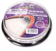 Omega Blu-ray BD-R 50GB 6X PRINT Suport Rotund 10buc. OFBDRDLP6C10