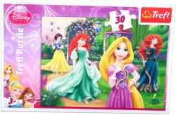 Trefl Disney hercegnők a kertben 30 db-os (18172)