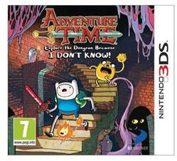 D3 Publisher Adventure Time Explore The Dungeon (Nintendo 3Ds)
