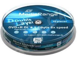 MediaRange Blu-ray BD-R 25Gb 4X Print 10 бр.
