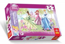 Trefl Disney hercegnők - Kerti séta 60 db-os (17191)