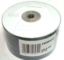 Omega CD-R 700Mb 52X 50 бр.