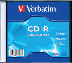 Verbatim CD-R 700Mb 52X 1 бр.