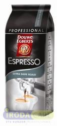 Douwe Egberts Espresso, szemes, vákuumos csomagolásban, 1kg