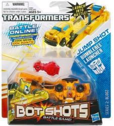 Hasbro Transformers Bot Shots mini átalakuló robotok - Bumblebee kilövővel