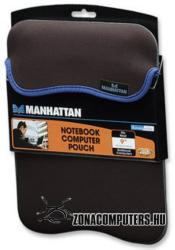 "Manhattan """"""Reversible Pouch 9"""""""" - Black/Grey (421874)"""""""