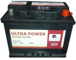Ultra POWER 12V 74Ah 680A Jobb+ (WEP5740)