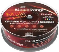MediaRange CD-R 900Mb 48X 25 бр.