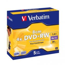 Verbatim Mini DVD+RW 1.4GB 4x - 5db