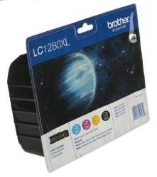 Brother LC1280XLVALBP Value Pack (BK/C/M/Y)