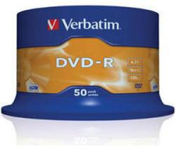 Verbatim Matt Silver DVD-R 4.7Gb 16X 50 бр.