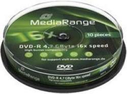 MediaRange DVD-R 4.7Gb 16X 10 бр.