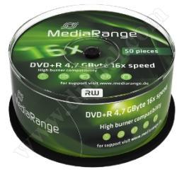 MediaRange DVD-R 4.7Gb 16X 50 бр.