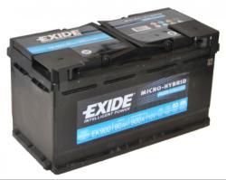 Exide AGM 92Ah 850A jobb+ (EK920)