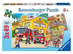 Ravensburger Tűzoltók 3x49 db