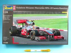Revell McLaren Mercedes MP4-25 Lewis Hamilton 1/24 07096