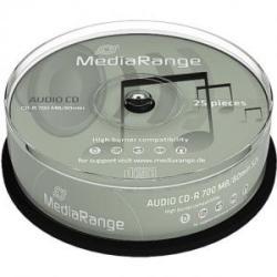 MediaRange CD-R 700MB 40X 25 бр.