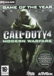 Activision Call of Duty 4 Modern Warfare [Game of the Year Edition] (PC)