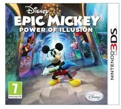 Disney Epic Mickey The Power of Illusion (3DS)