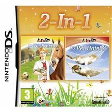 DTP Young My Vet Practice Pet Hotel Double Pack (Nintendo DS)