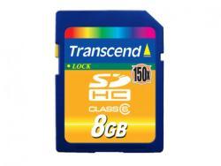 Transcend SDHC 8GB Class 6 150x (TS8GSDHC150)
