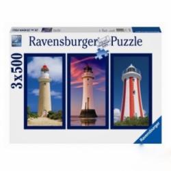 Ravensburger Világítótornyok 3x500 db-os (16277)