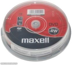 Maxell DVD-RW 4.7Gb 2X 10 бр.