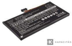Utángyártott HTC Li-polymer 1500 mAh BK76100