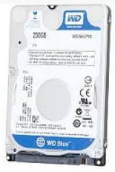 Western Digital 250GB 8MB 5400rpm SATA3 WD2500LPVX