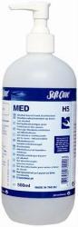 Soft Care Med kézfertőtlenítő gél, alkoholos, 500ml