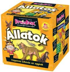 The Green Board Game BrainBox - Állatok