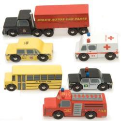 Le Toy Van Fa járműkészlet 6 darabos - The New York Set