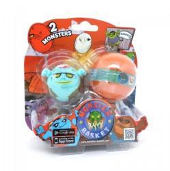 Monster Basket figurák gömbbel