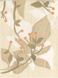 Kwadro Begonia 25x33 Beige Inserto A