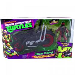 Playmates Toys Tini nindzsa teknőcök - Sárkány motor Foot Soldier akciófigurával