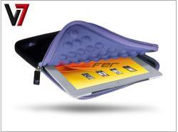 """V7 Ultra Protective Sleeve 7.9"""" - Black/Purple (TDM23BKPL)"""
