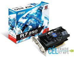 MSI Radeon R7 250 1GB GDDR5 128bit PCI-E (R7 250 1GD5 OC)