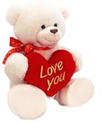 Keel Toys George medve 90 cm fehér