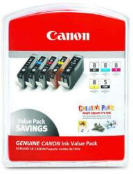 Canon CLI-8 MultiPack (BK/PC/PM/R/G)