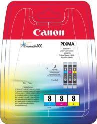 Canon CLI-8 MultiPack (C/M/Y) 0621B029