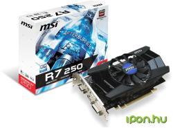 MSI Radeon R7 250 2GB GDDR3 128bit PCI-E (R7 250 2GD3 OC)