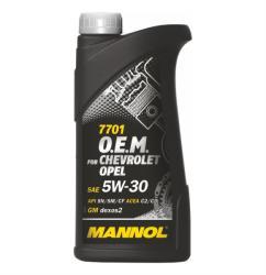 MANNOL 7701 OEM Chevrolet Opel 5W-30 (1L)