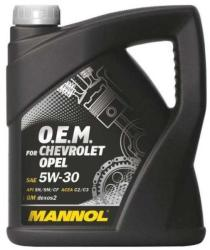 Mannol 7701 OEM Chevrolet Opel 5W-30 (4L)