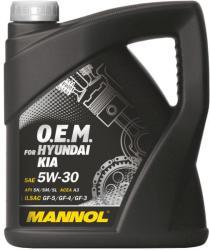 MANNOL 7713 OEM for Hyundai Kia 5W-30 4L