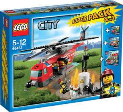 LEGO CITY Tűzoltó Superpack 4-az-1-ben 66453