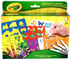 Crayola ABC sablon készlet