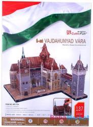 CubicFun 3D puzzle - Vajdahunyad vára 137 db-os (MC172H)